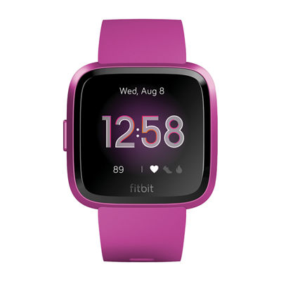 Fitbit Versa Lite Unisex Purple Smart Watch-Fb415pmpm