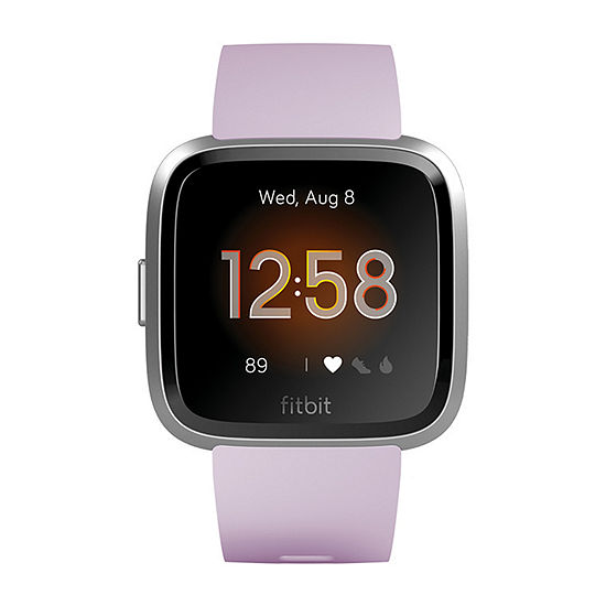 Fitbit Versa Lite Unisex Purple Smart Watch-Fb415srlv