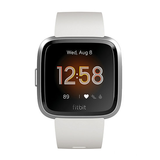 Fitbit Versa Lite Unisex White Smart Watch-Fb415srwt