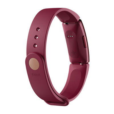 Fitbit Inspire Unisex Red Smart Watch-Fb412byby