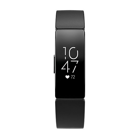 Fitbit Inspire Hr Unisex Black Smart Watch-Fb413bkbk