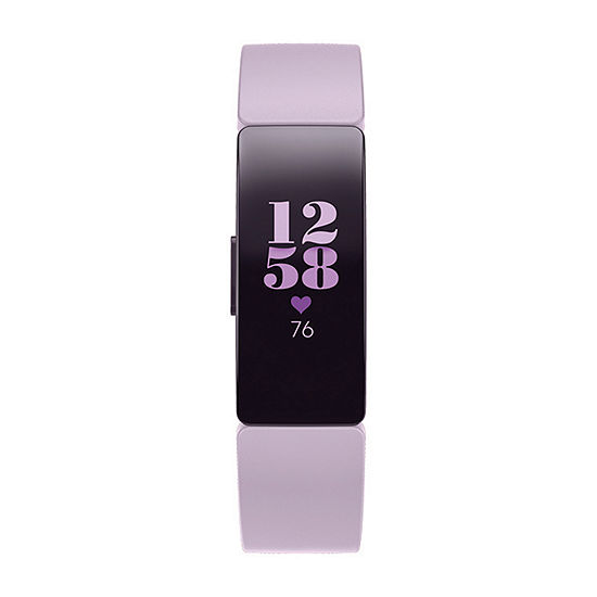 Fitbit Inspire Hr Unisex Purple Smart Watch Fb413lvlv