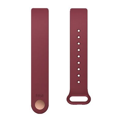 Fitbit Unisex Red Watch Band-Fb169abbys