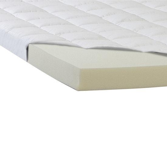 "Comforpedic from Beautyrest® Memory Foam and Fiber 5.5"" Mattress Topper"