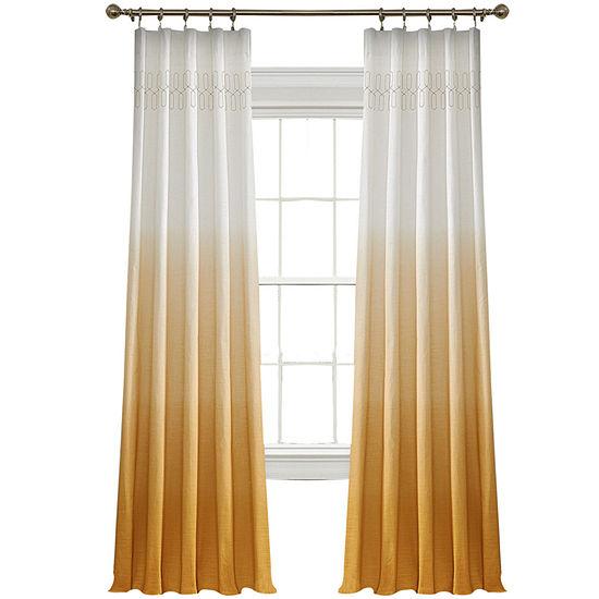 Vue™ Signature Arashi Fashion Rod-Pocket Curtain Panel