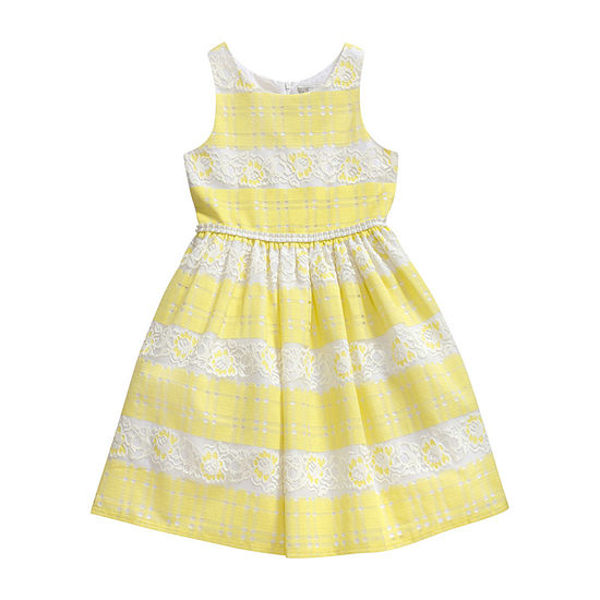 Emily West Girls Sleeveless Party Dress - Preschool / Big Kid