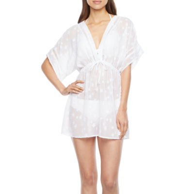 Peyton & Parker Womens Star Dress Swimsuit Cover-Up