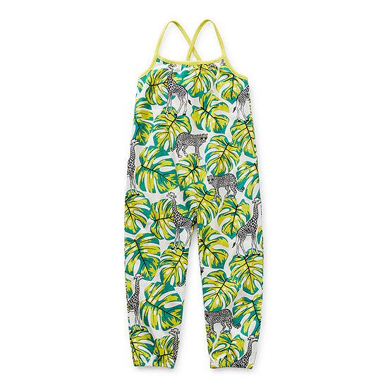 Okie Dokie Toddler Girls Sleeveless Jumpsuit