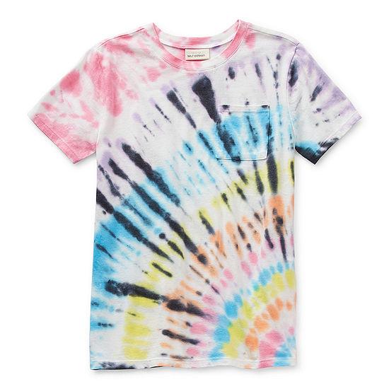 Self Esteem Little & Big Girls Round Neck Short Sleeve T-Shirt