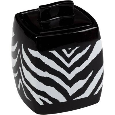 Creative Bath™ Zebra Jar