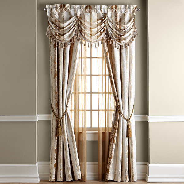Home Expressions™ Regan Rod-Pocket Curtain Panel