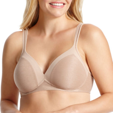 Olga Play It Cool Wireless T-Shirt Full Coverage Bra-Gm2281a