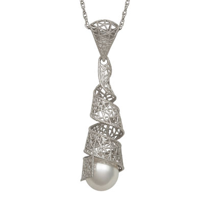 Cultured Freshwater Pearl Sterling Silver Pendant
