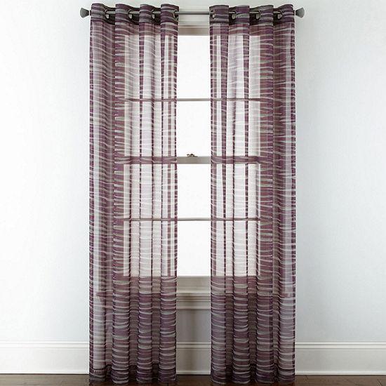 Studio™ Phoenix Sheer Grommet-Top Curtain Panel