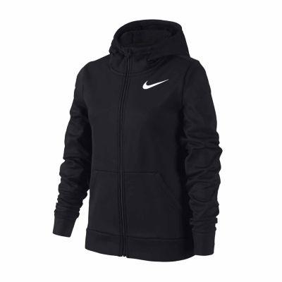 Nike Performance Full Zip Fleece Hoodie - Girls' 7-16