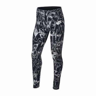 Nike Printed Tights - Girls' 7-16