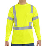 Red Kap Mens High Visibility Flame Resistant Safety Shirt-Big and Tall