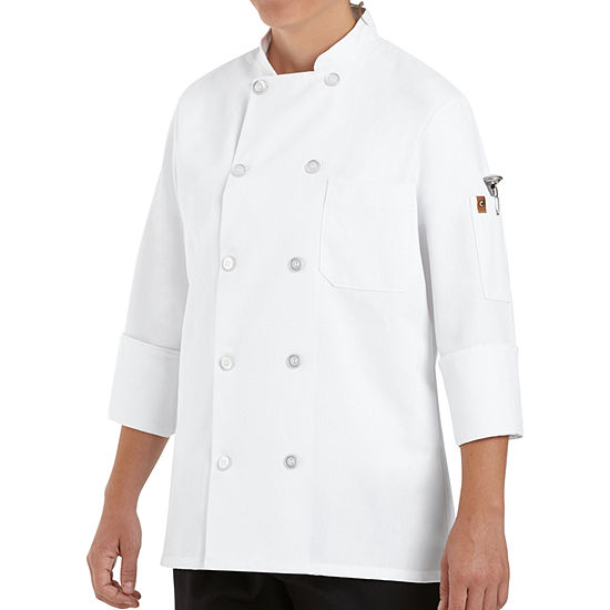 Chef Designs® 0401 Women's 10 Button Chef Coat