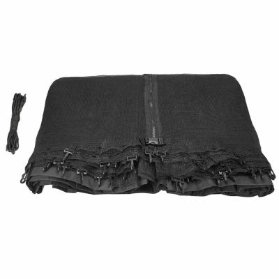 Upper Bounce Trampoline Replacement Net: Fits For8 ft Using 6 Curved Poles With Top Ring (NET ONLY)