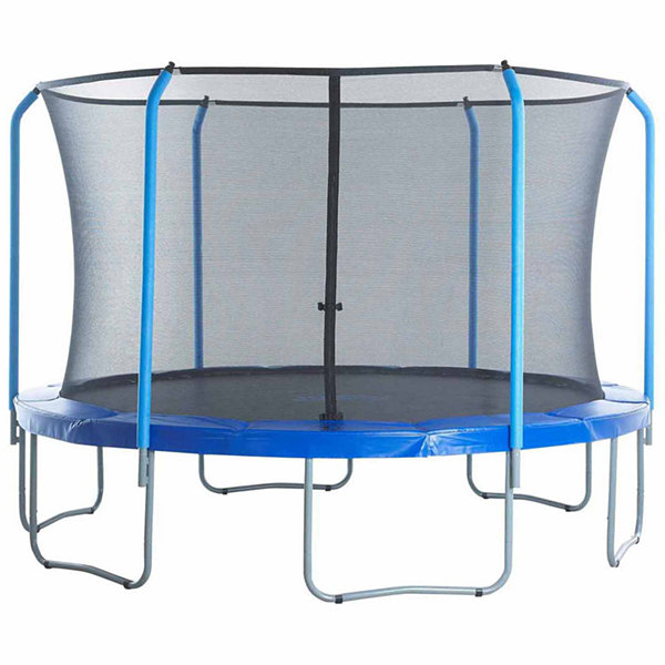Upper Bounce Trampoline Replacement Net: Fits For12 ft Using 6 Curved Poles With Top Ring (NET ONLY)