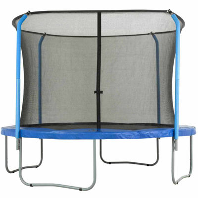Upper Bounce Trampoline Replacement Net: Fits For14 ft Using 4 Curved Poles With Top Ring (NET ONLY)