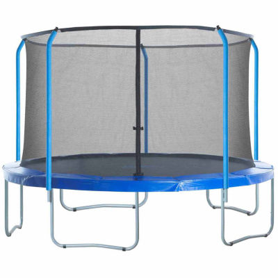 Upper Bounce Trampoline Replacement Net: Fits For15 ft Using 5 Curved Poles With Top Ring (NET ONLY)