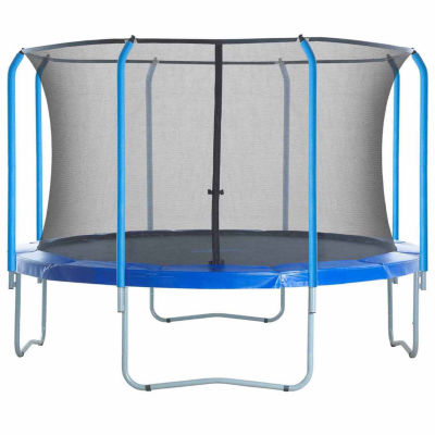 Upper Bounce Trampoline Replacement Net: Fits For15 ft Using 8 Curved Poles With Top Ring(NET ONLY)