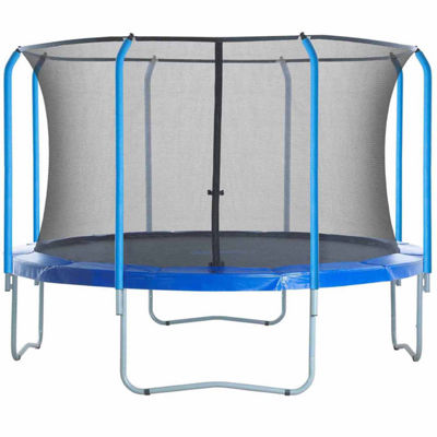 Upper Bounce Trampoline Replacement Net: Fits For17 ft Using 8 Curved Poles With Top Ring (NET ONLY)