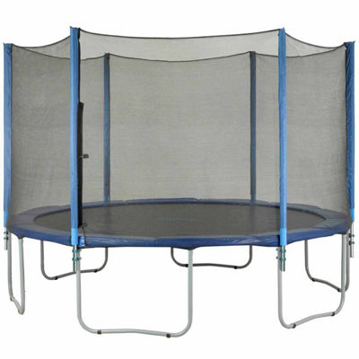 Upper Bounce Trampoline Enclosure Set  to fit 7.5ft  for 3 or 6 W-Shaped Legs (Net Poles & HardwareOnly)