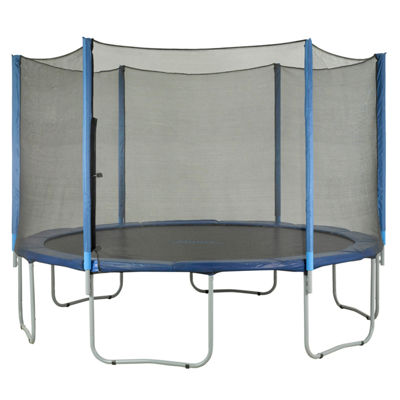 Upper Bounce Trampoline Replacement Net: Fits for14 ft Using 6 Straight Poles (NET ONLY)