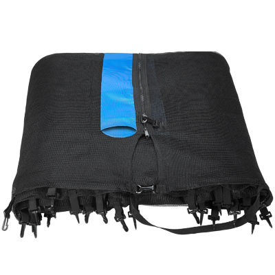Upper Bounce Trampoline Replacement Net- Fits for15 FT. Round Frames- Using 8 Straight Poles- Installs Outside of Frame -NET ONLY