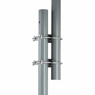 Upper Bounce Trampoline Enclosure Pole Connecter-Fits for poles measuring up to 1.5Inch diameter- and up to 1.75Inch diameter leg - set of 16