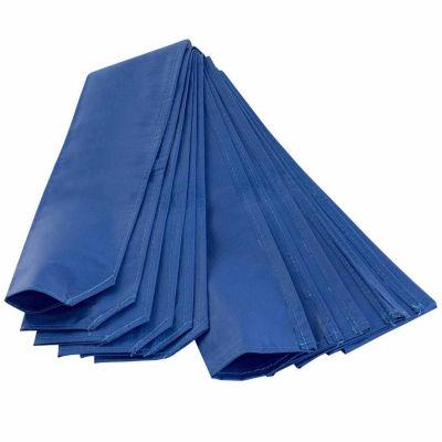 Trampoline pole sleeve protector - set of 6 - blue