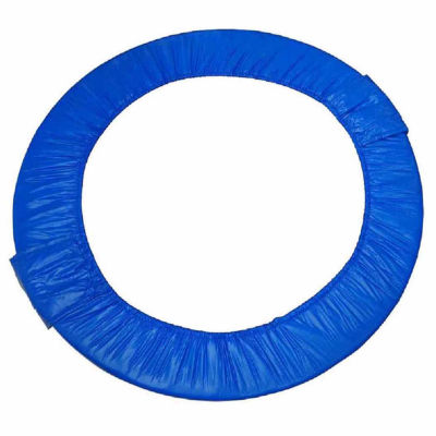 """Upper Bounce 40"""" Mini Round Foldable Replacement Trampoline Safety Pad (Spring Cover) for 6 Legs - Blue"""