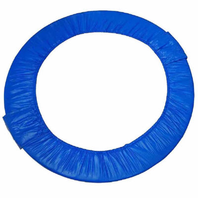 "Upper Bounce 48"" Mini Round Foldable Replacement Trampoline Safety Pad (Spring Cover) for 8 Legs - Blue"