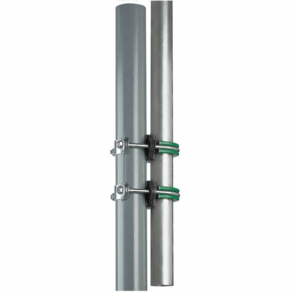 Upper Bounce Trampoline Replacement Enclosure Poles & Hardware- Set of 8 -Net Sold Separately