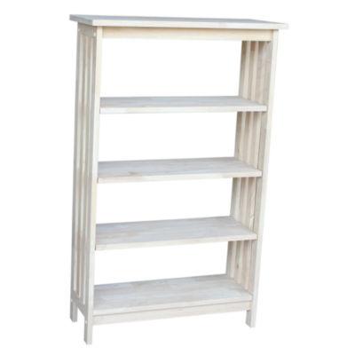 Mission 5-Shelf Bookshelf