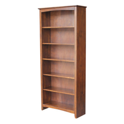 Shaker 6-Shelf Bookshelf
