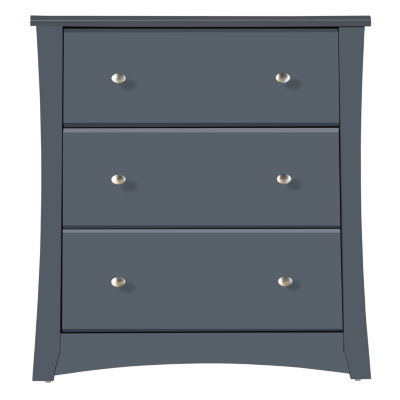 Storkcraft Crescent 3-Drawer Nursery Dresser