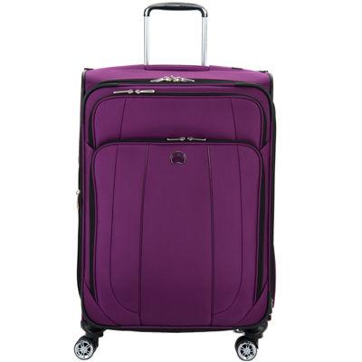 "Delsey Helium Cruise 25"" Expandable Spinner Upright Luggage"