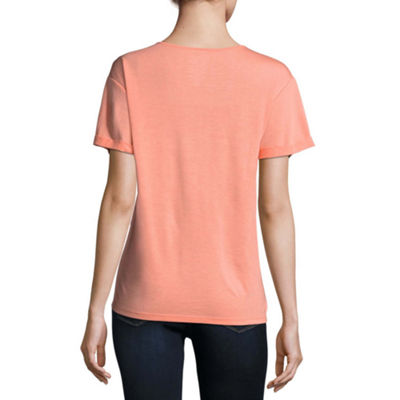 Criss Cross Fashion Tee - Juniors