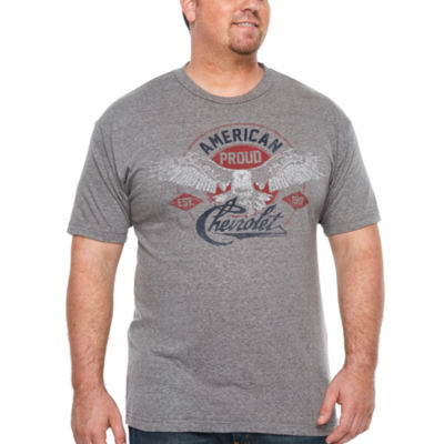 Chevrolet American Proud Short Sleeve Graphic T-Shirt-Big and Tall