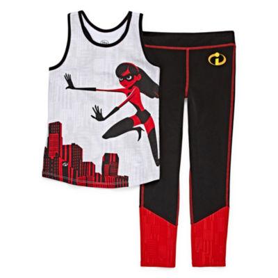 Disney The Incredibles 2 Short Set Girls