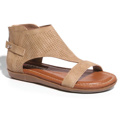 2 Lips Too Too Cooper Womens Flat Sandals
