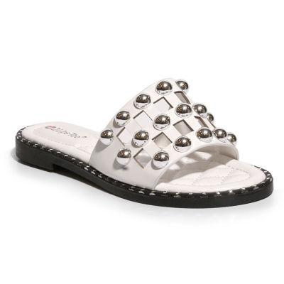 2 Lips Too Gabi Womens Slide Sandals