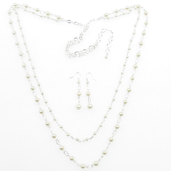 Vie Air Womens 2-pc. Necklace Set