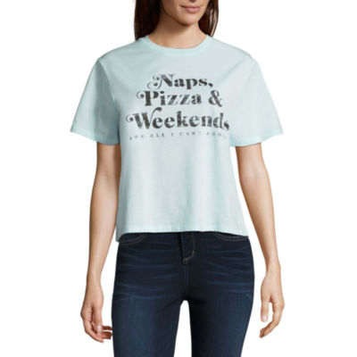 """Naps, Pizza & Weekends"" Tee - Juniors"