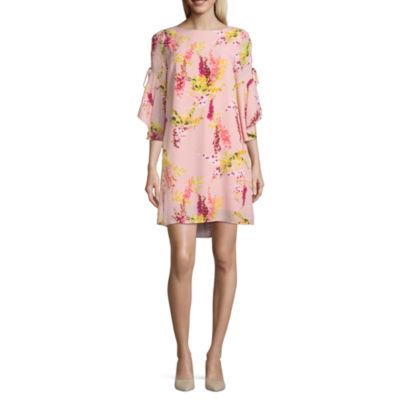 Worthington Cascade Sleeveless Dress