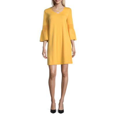 a.n.a. X Front Swing Dress