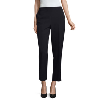 Liz Claiborne Pull On Ankle Pant - Tall Inseam 30""